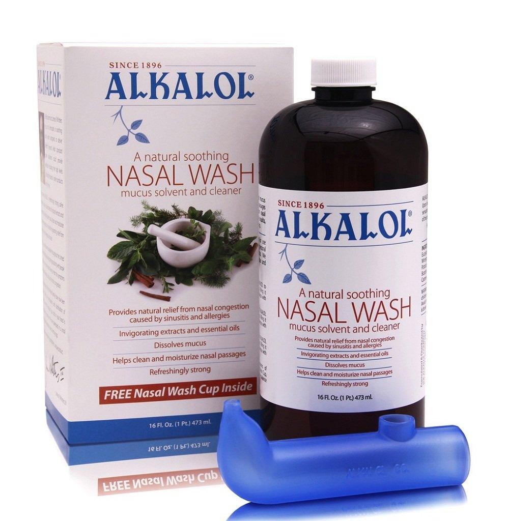 A Natural Soothing Nasal Wash, Mucus