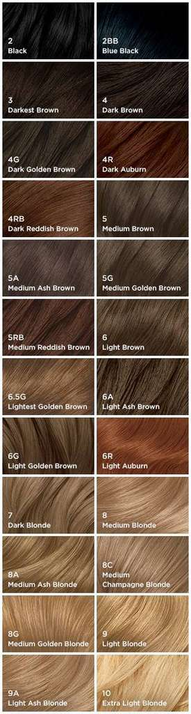 Clairol Natural Instincts Hair Color Shades