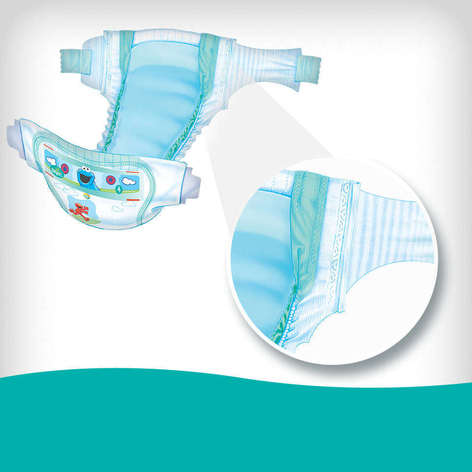 Amazon Com Pampers Baby Dry Diapers Super Pack Newborn