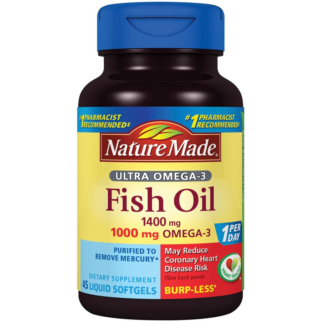Nature Made Fish Oil  Mg  Mg Omega