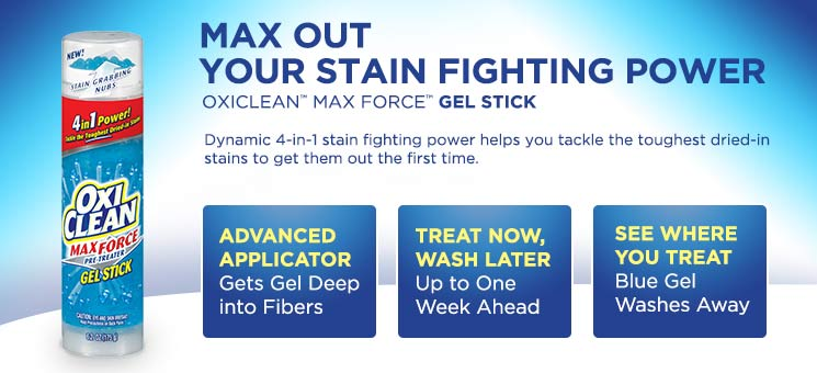 Amazon Com Oxiclean Max Force Gel Stick 6 2 Ounce Pack
