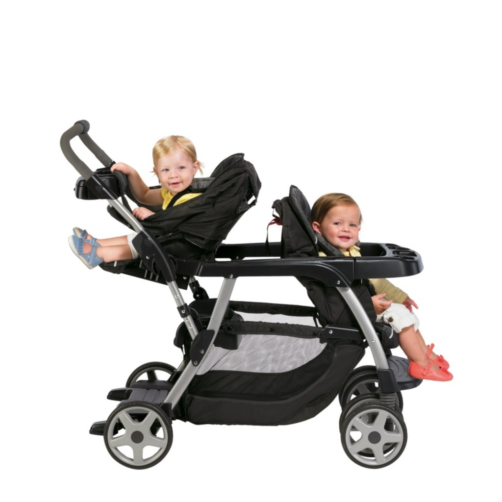 Graco Ready2grow Stroller Baby Toddler Double Stand And