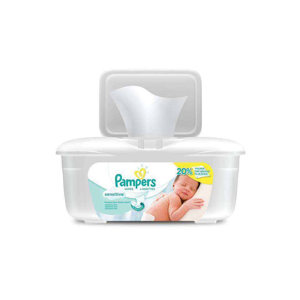 Amazon Com Pampers Natural Clean Wipes 12x Box With Tub