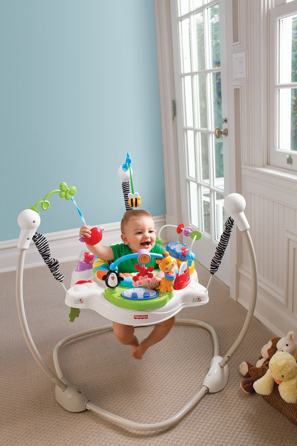Amazon Com Fisher Price Jumperoo Discover N Grow