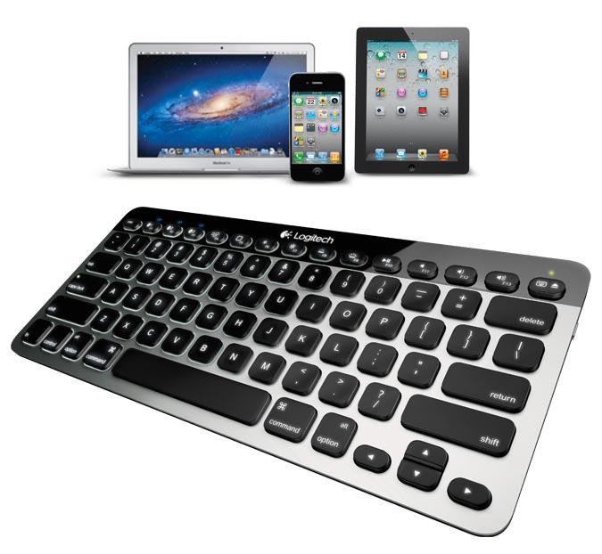 Amazon.com: Logitech Bluetooth Easy-Switch K811 Keyboard for Mac, iPad, iPhone ...