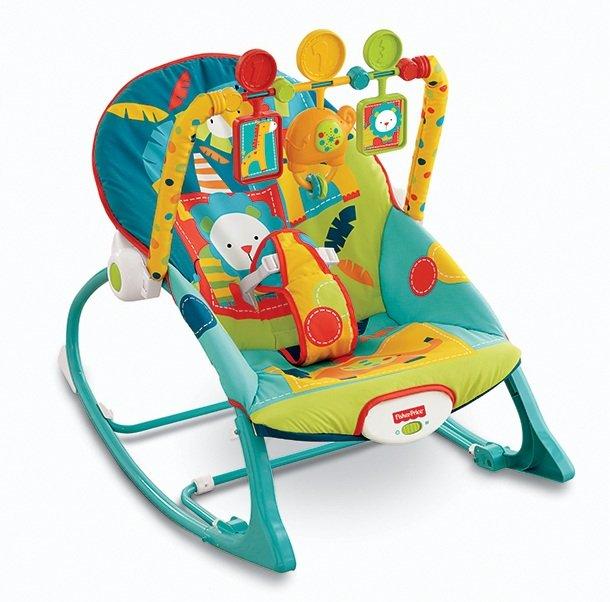 Fisherprice Infant To Toddler Rocker Bouncer Chair Safari