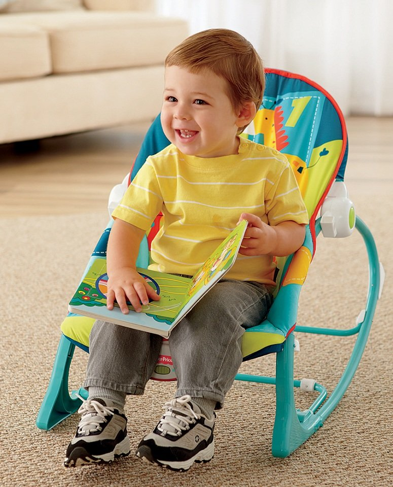Amazon Com Fisher Price Infant To Toddler Rocker Dark