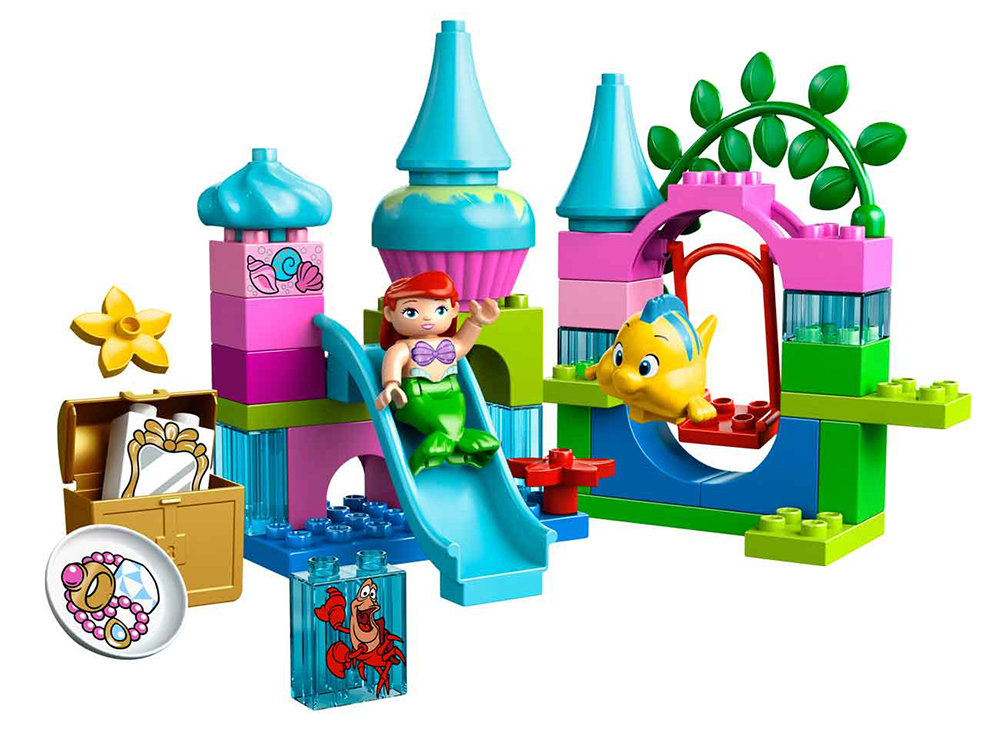 Lego Duplo Princess Ariel Undersea Castle 10515 Little ...