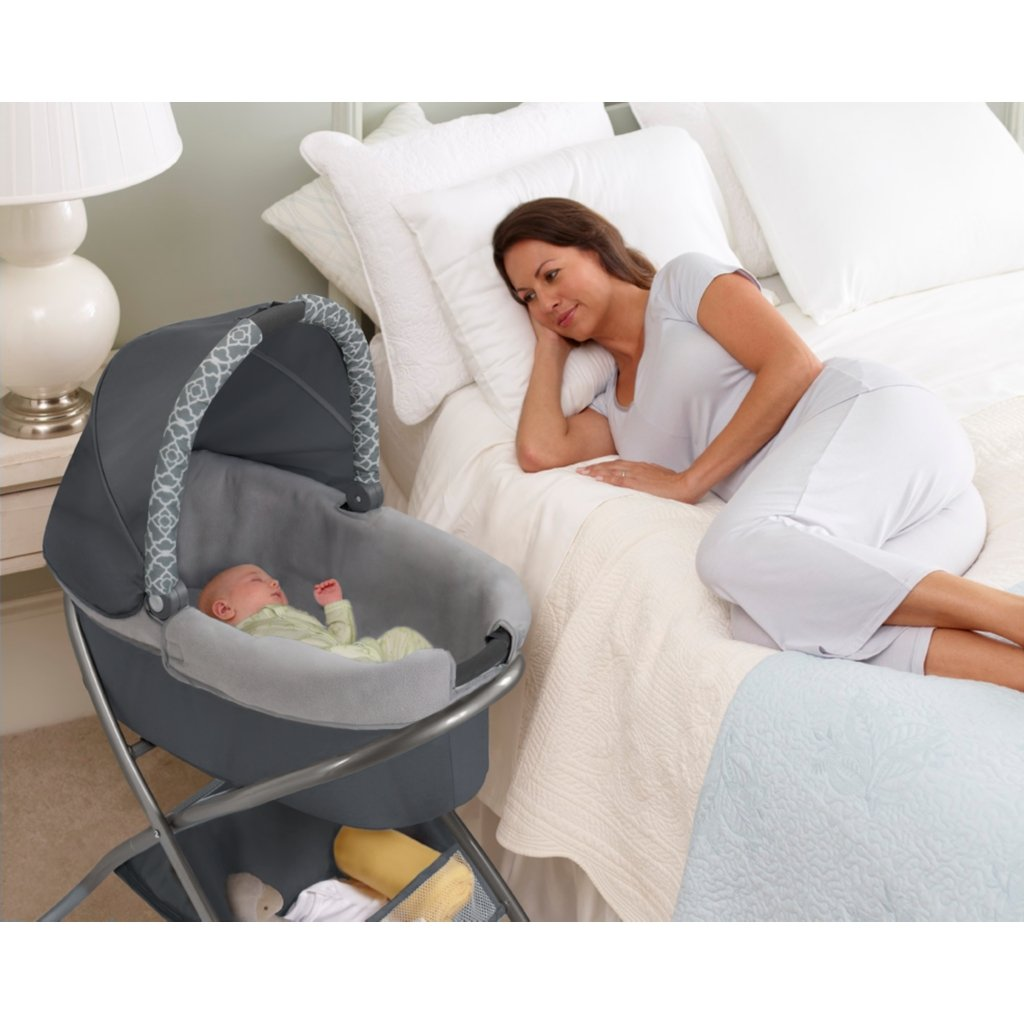 Baby Portable Bassinet Playyard Infant Nursery Folding