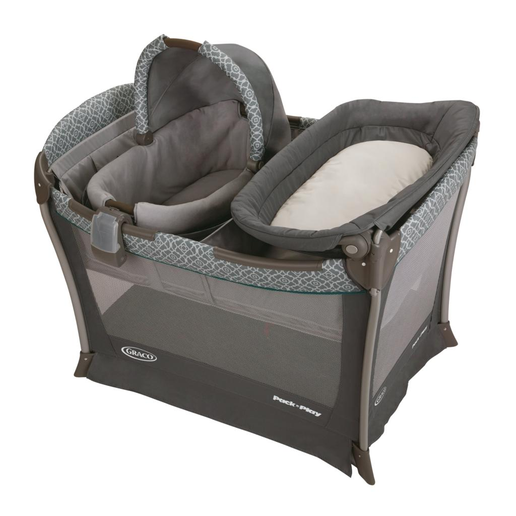 baby portable bassinet playyard infant nursery folding sleep bed playpen changer ebay. Black Bedroom Furniture Sets. Home Design Ideas