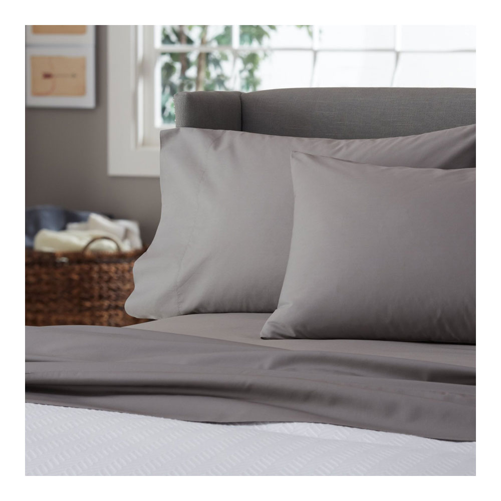 Ultra Soft 300 Thread Count Percale Sheet Set Feels