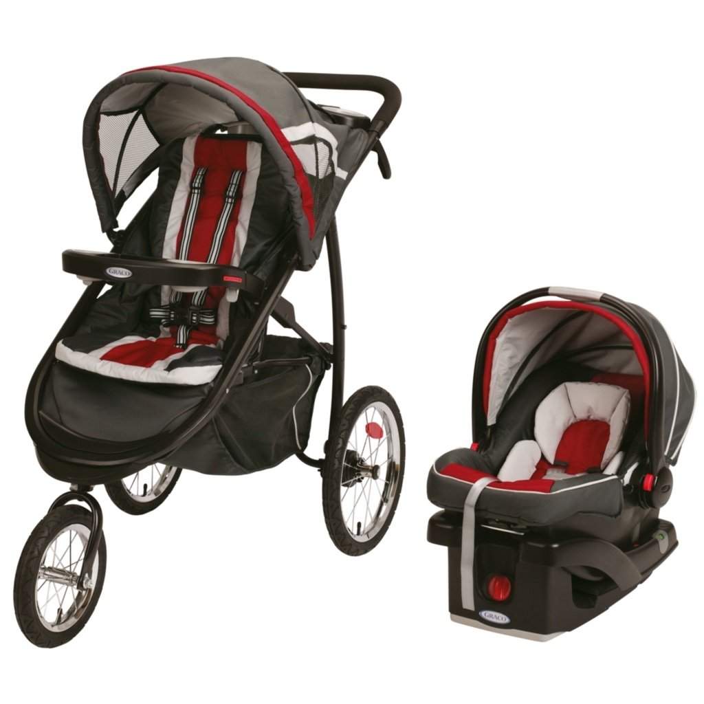 Fastaction Jogger Click Connect Travel System