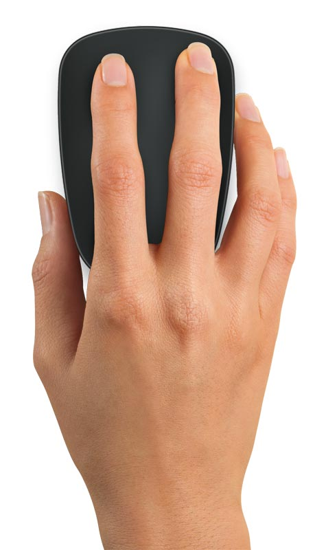 Logitech Ultrathin Touch Mouse T630 For Windows 8 Touch