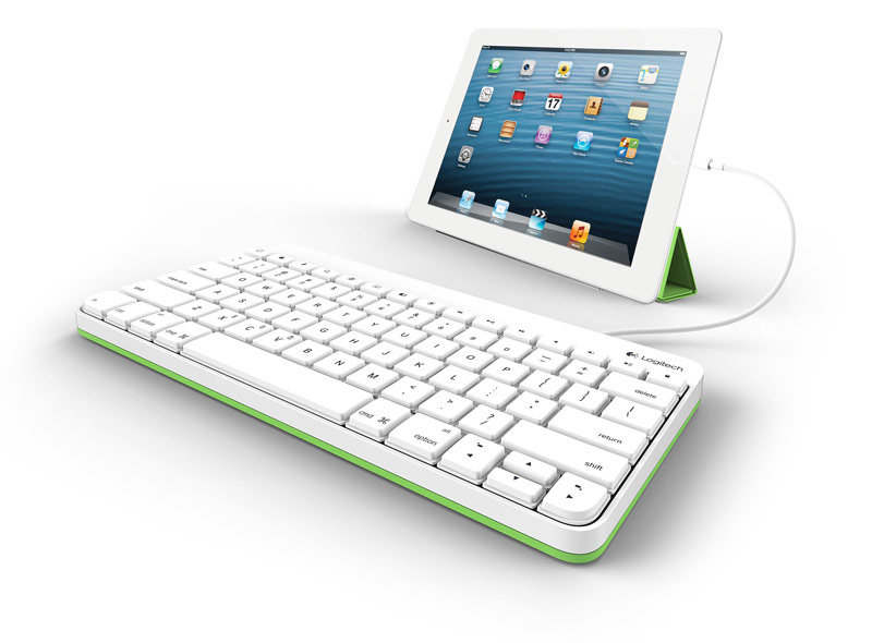 Wired Keyboard On Ipad : new logitech wired keyboard with 30 pin connector for ipad 2 ipad 3rd gen ~ Vivirlamusica.com Haus und Dekorationen