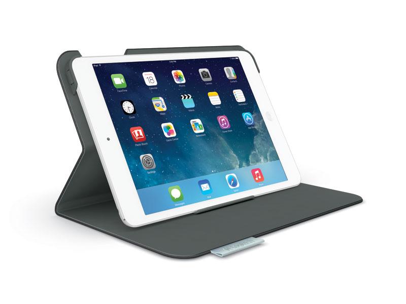 Logitech Folio Protective Case for iPad Air - Carbon Black