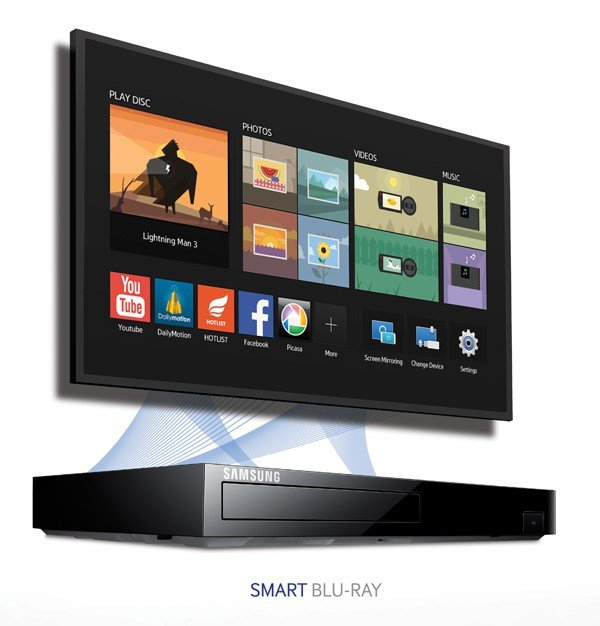 Amazon.com: Samsung BD-H6500 3D Smart Blu-ray Disc Player