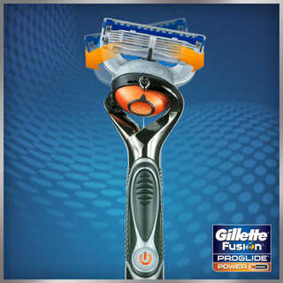 Amazon Com Gillette Fusion Proglide Power Razor With