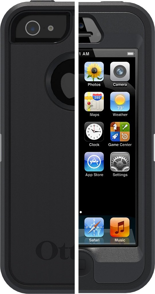 Amazon.com: OtterBox Defender Series Case for iPhone 5 ...
