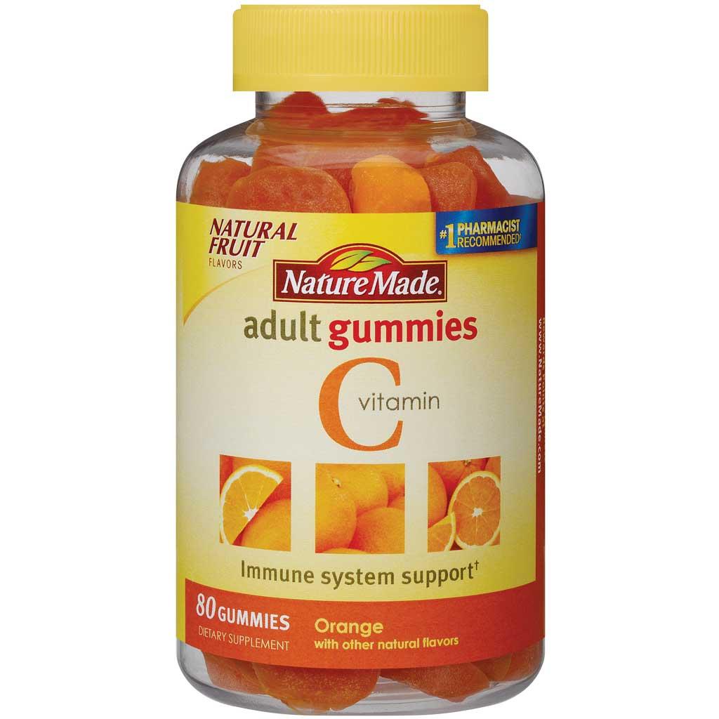 Amazon.com: Nature Made Vitamin C Adult Gummies, 80 Count: Health ...