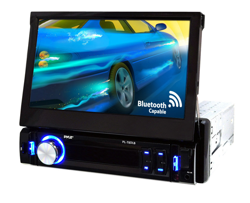 "PL78DLB 7"" Touch Screen LCD with AM/FM Stereo view larger"