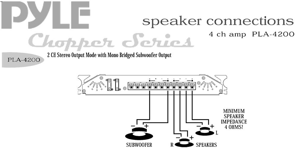 Pyle Lifier And Subwoofer Wiring Diagram Free Download ... on