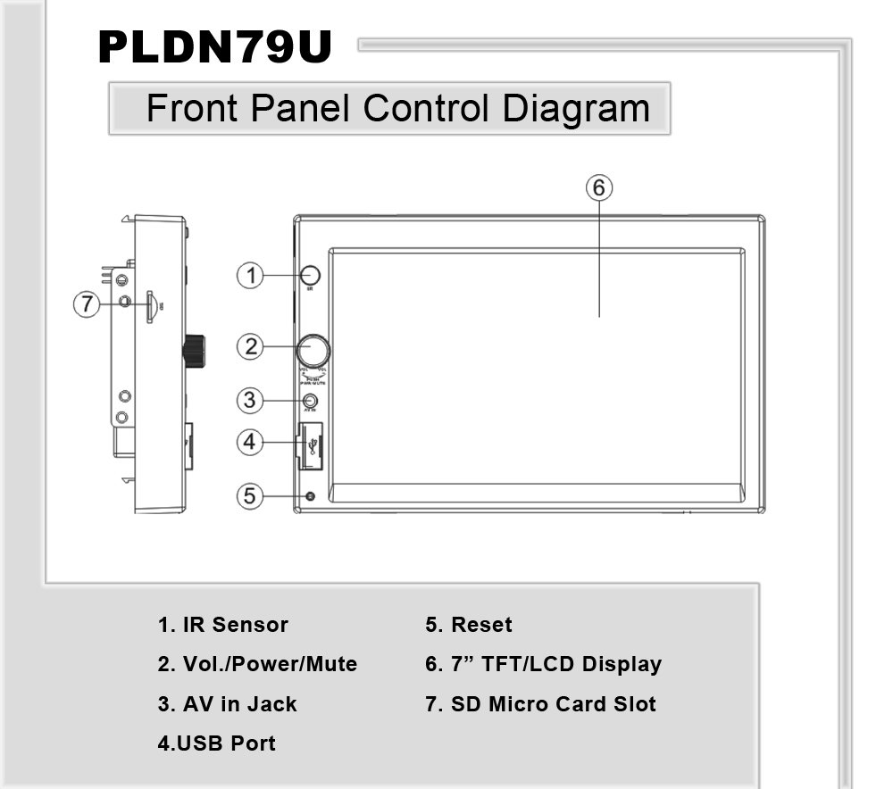 pyle - pldn79u - on the road - headunits - stereo receivers dual touch screen wiring diagram