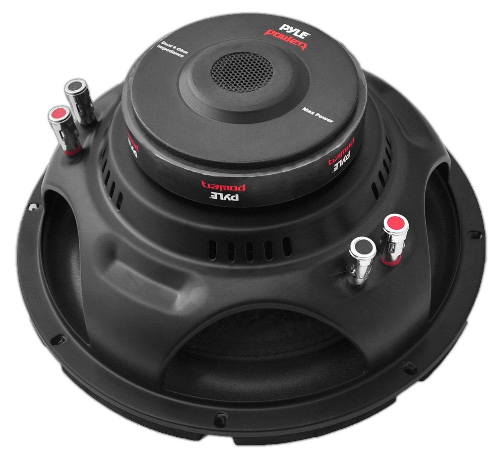 "PYLE PRO PLPW12D Power Series Dual Voice-Coil 4ohm Subwoofer 12/"", 1,600 Watts"