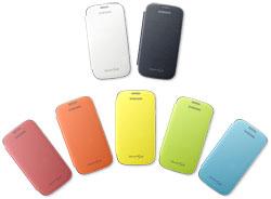 Samsung Flip Cover Case For Samsung Galaxy S3 Light Blue