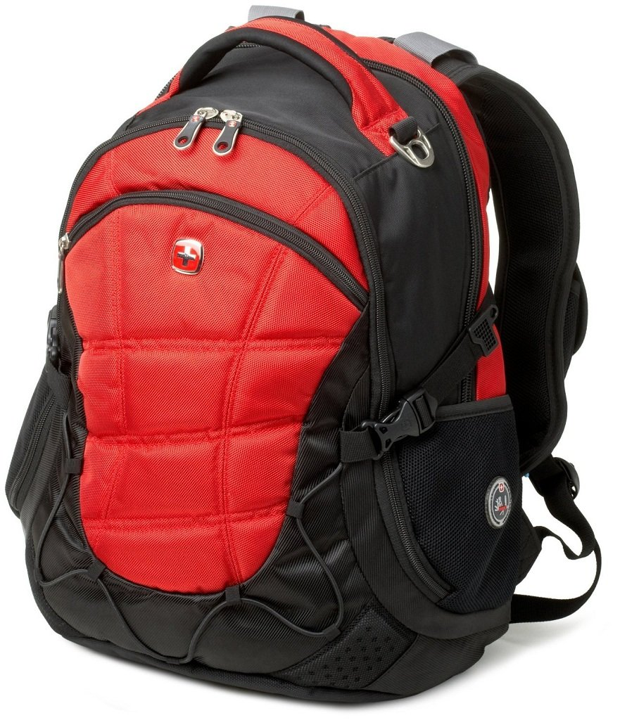 Amazon.com: SwissGear Laptop Computer Backpack SA9769 (Red