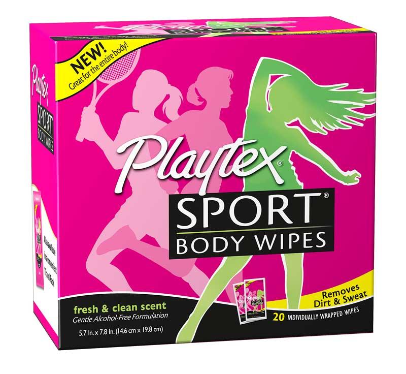 Playtex Body Wipes