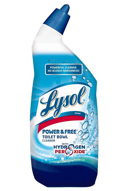 New Lysol Power And Free Toilet Bowl Cleaner No Chemical