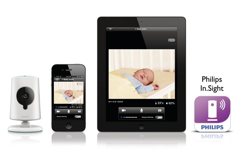 Amazon.com : Philips B120E/37 InSight Wireless HD Baby