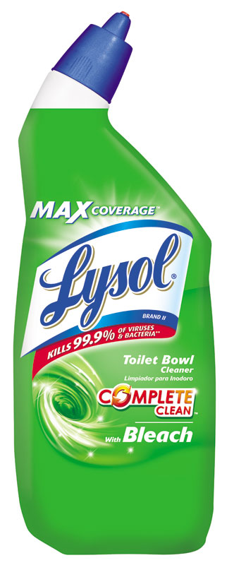 Amazon Com Lysol Toilet Bowl Cleaner With Bleach 24