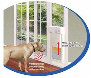 Amazon Com Power Pet Electronic Sliding Glass Patio Pet
