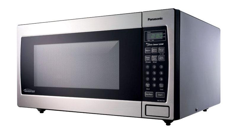 Amazon Com Panasonic 1250w 2 2 Cu Ft Countertop