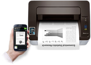 Samsung SL-M2020W/XAA Wireless Monochrome Printer - Cerlermorkindra
