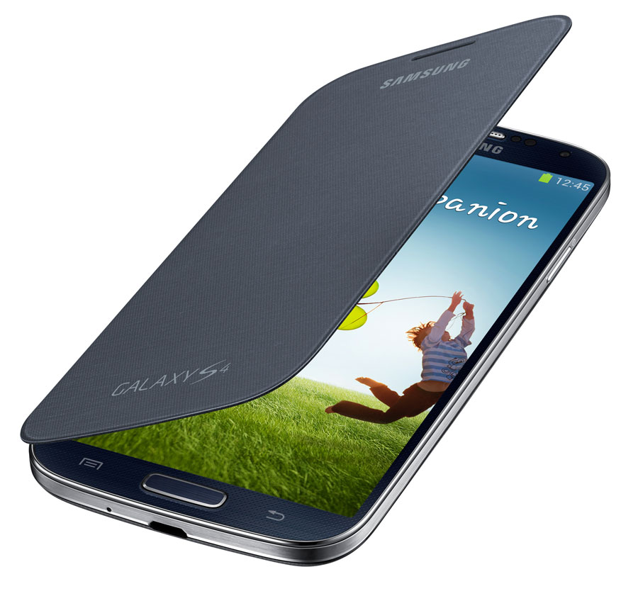 Brand New Samsung Galaxy S4 Flip Cover Folio Case Black | eBay