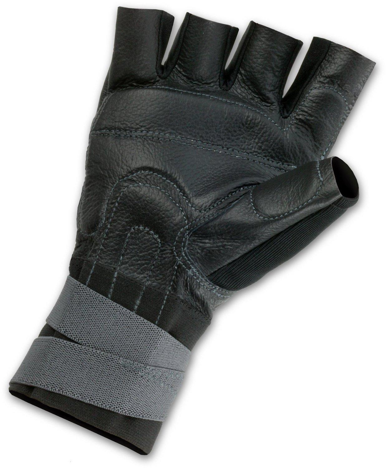 ProFlex 910 Impact Glove with Wrist Support, Black, Large