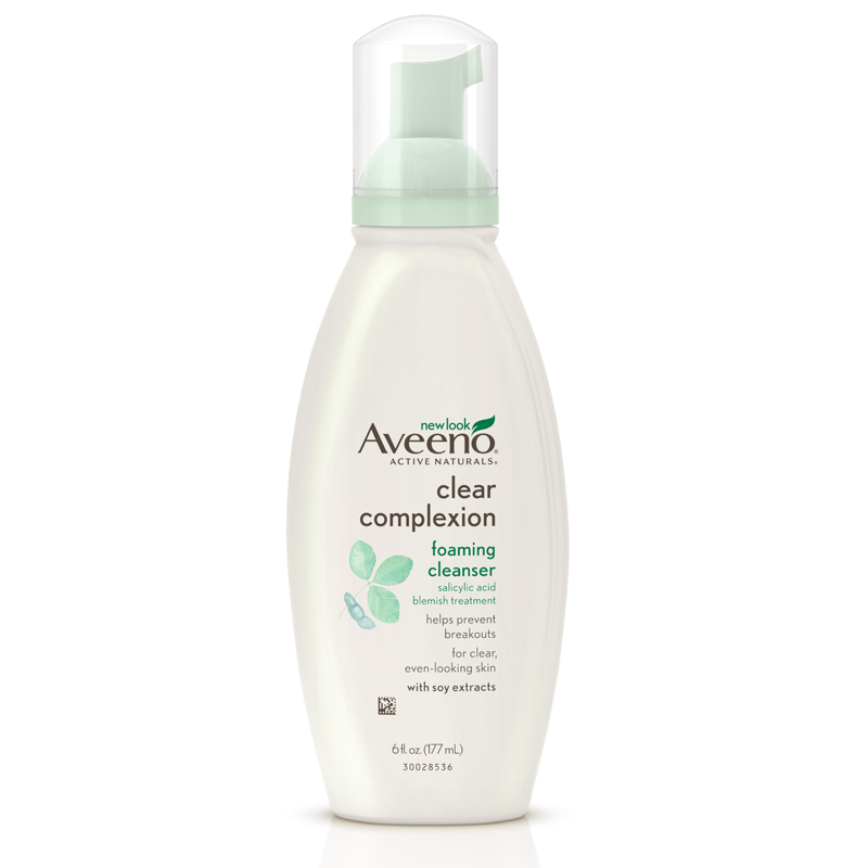 Amazon Com Aveeno Clear Complexion Foaming Cleanser 6