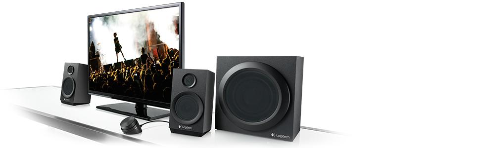 Amazon.com: Logitech Z333 80 Watts Multimedia Speakers