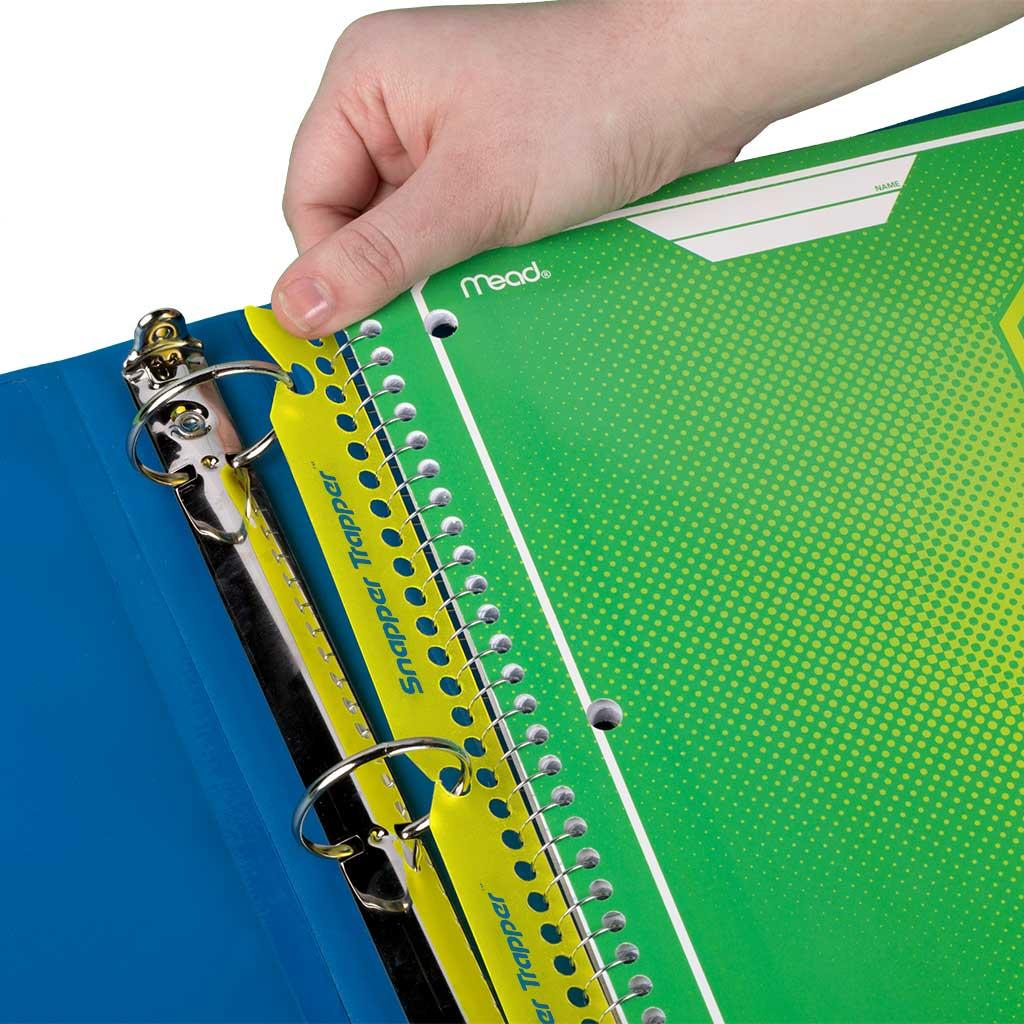 Amazon.com: Mead Trapper Keeper Snapper Trapper Notebook