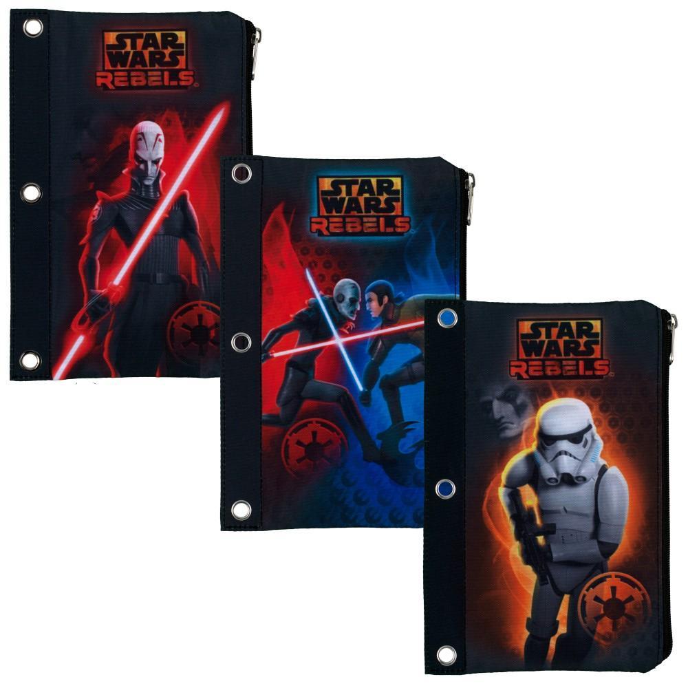 Amazon.com : Star Wars Rebels Flat Pencil Pouch By Mead