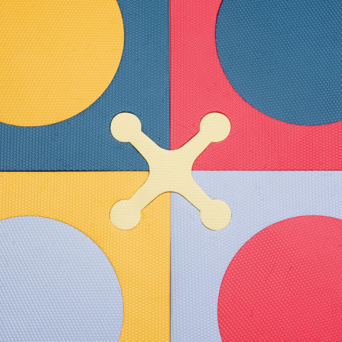 Amazon Com Skip Hop Playspot Foam Floor Tiles Brights