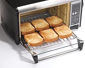 Kitchen Pizza Cake Oven Bake Meat Chicken Rotisserie Broil Countertop