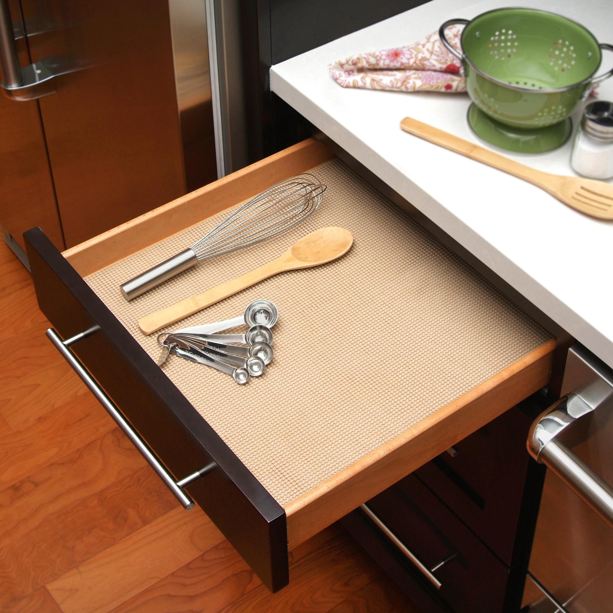What Is The Best Shelf Liner For Kitchen Cabinets: Con-Tact Brand Grip Non-Adhesive Non-Slip