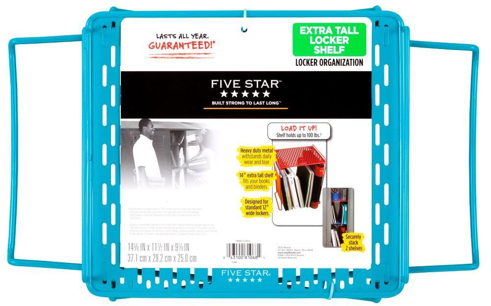 Amazon Com Five Star Extra Tall Locker Shelf Holds 100