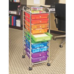 Amazon.com : Seville Classics 10-Drawer Organizer Cart