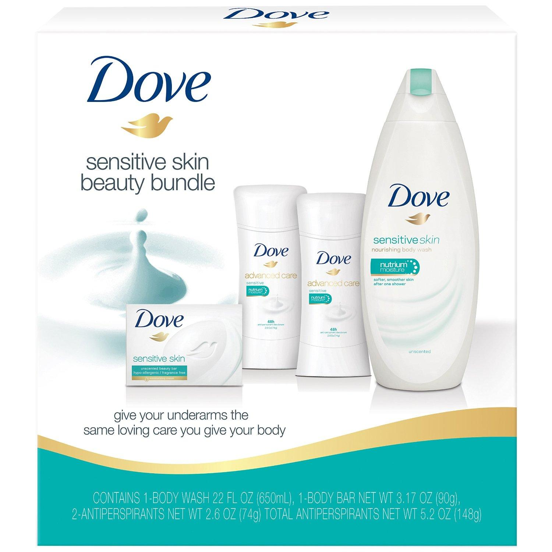Sensitive Skin: Amazon.com: Dove Beauty Bundle, Sensitive Skin: Beauty