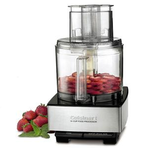 Cuisinart Custom  Food Processor Brushed Metal Series