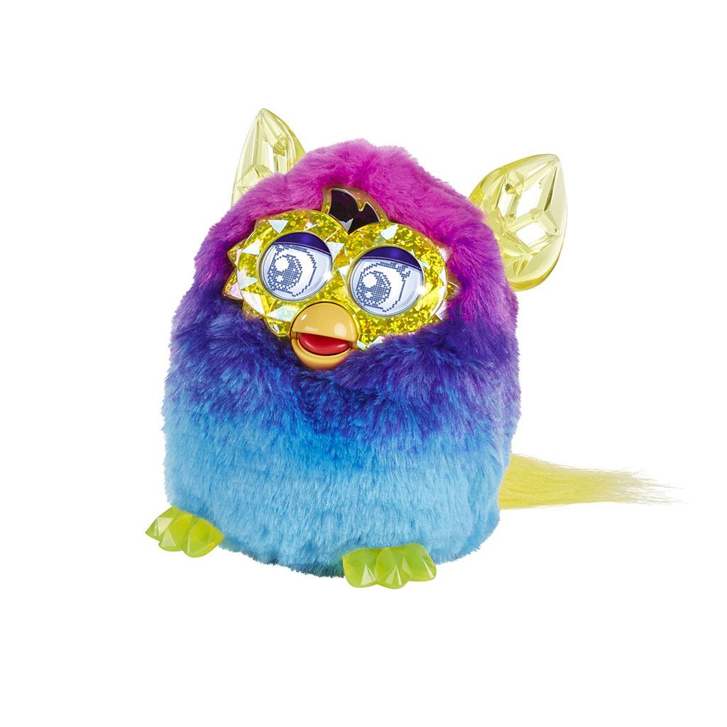 Furby Boom Crystal Series Pink Blue Ages 6 Talking PET NEW ...